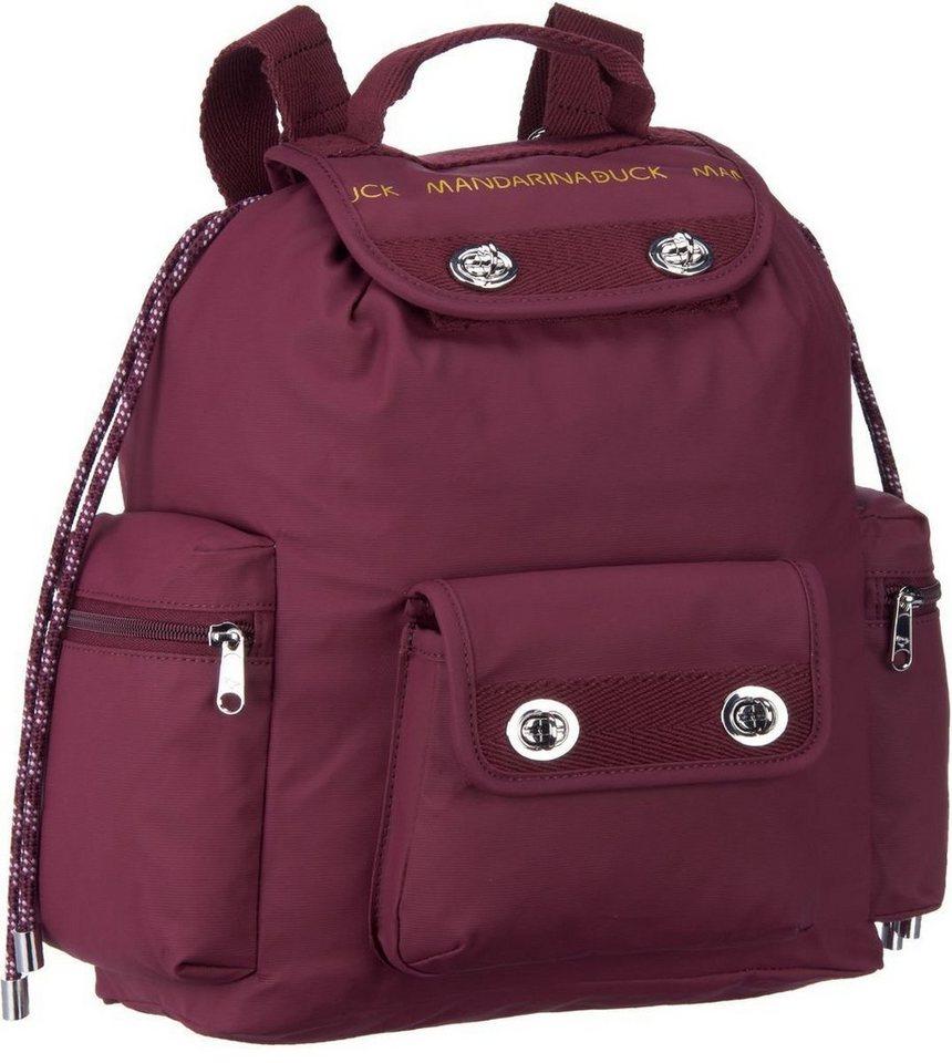 Mandarina Duck Utility Backpack T01 in Cordovan