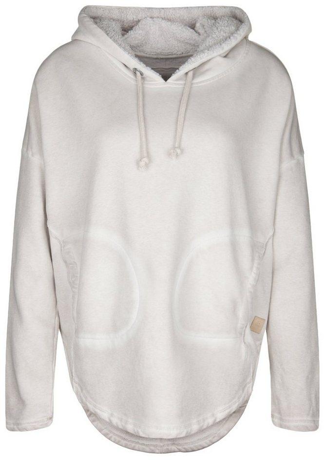 Better Rich Kapuzensweatshirt »HOODIE PONCHO« in silver
