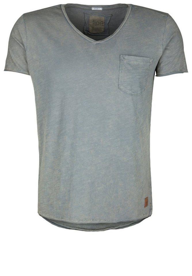 Better Rich T-Shirt »VNECK POCKET A« in salvia