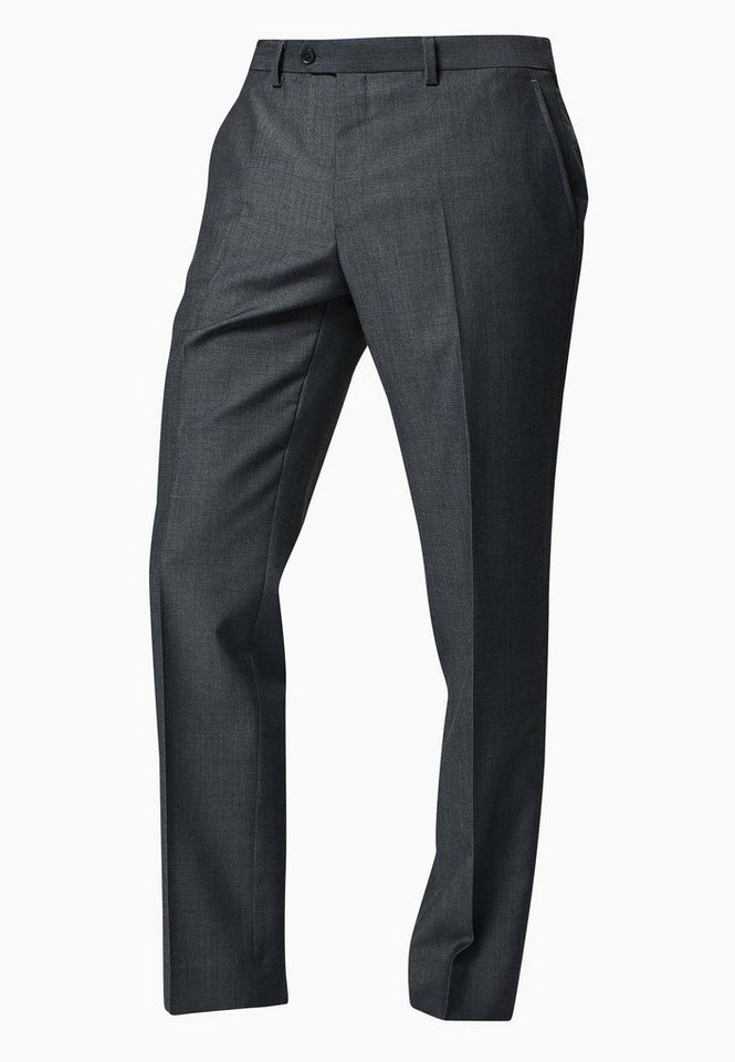 Next Tailored-Fit Baukastenhose aus Wollmix in Charcoal Tailored-Fit
