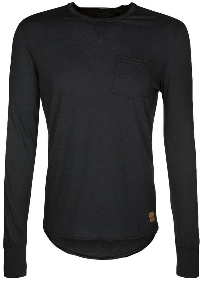 Better Rich Longsleeve »POCKET« in jet