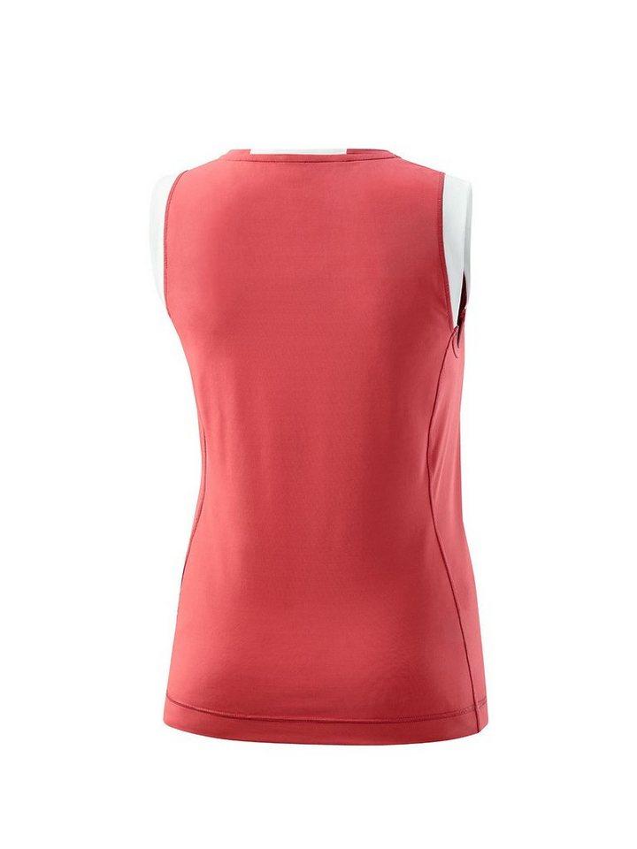 Joy Sportswear Sporttop »ANIKA« in coral-kontrastfarbene Details