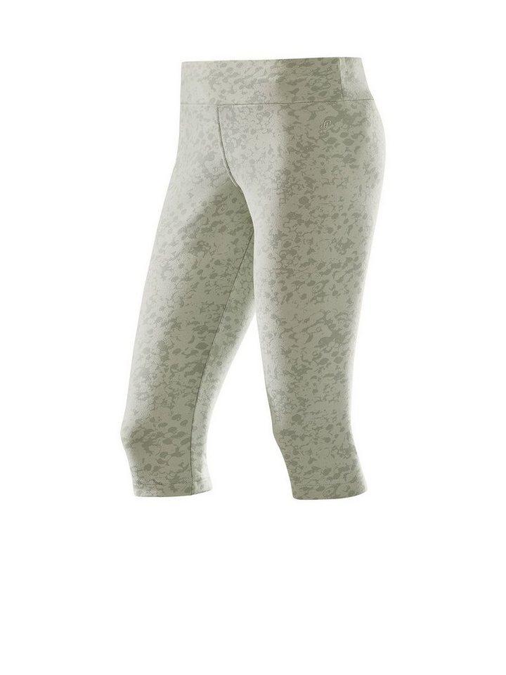 Joy Sportswear Caprihose »MILA« in kieselgrau-bedruckt