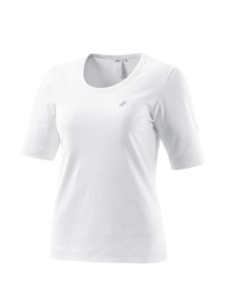 Joy Sportswear Rundhalsshirt »HELENA« in white