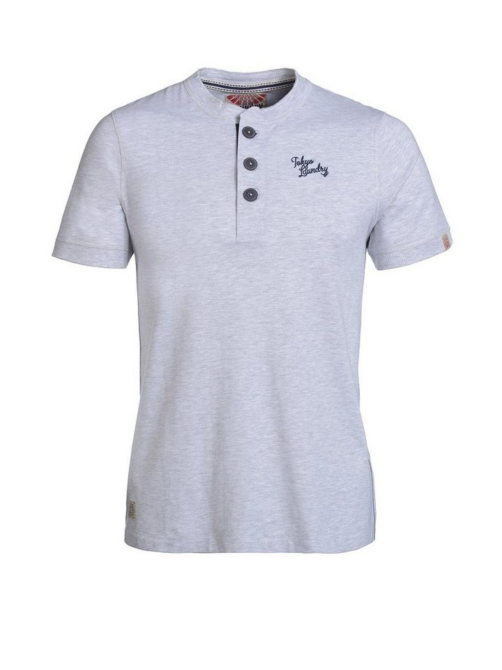 Tokyo Laundry T-Shirt »Chartham 2« in grau