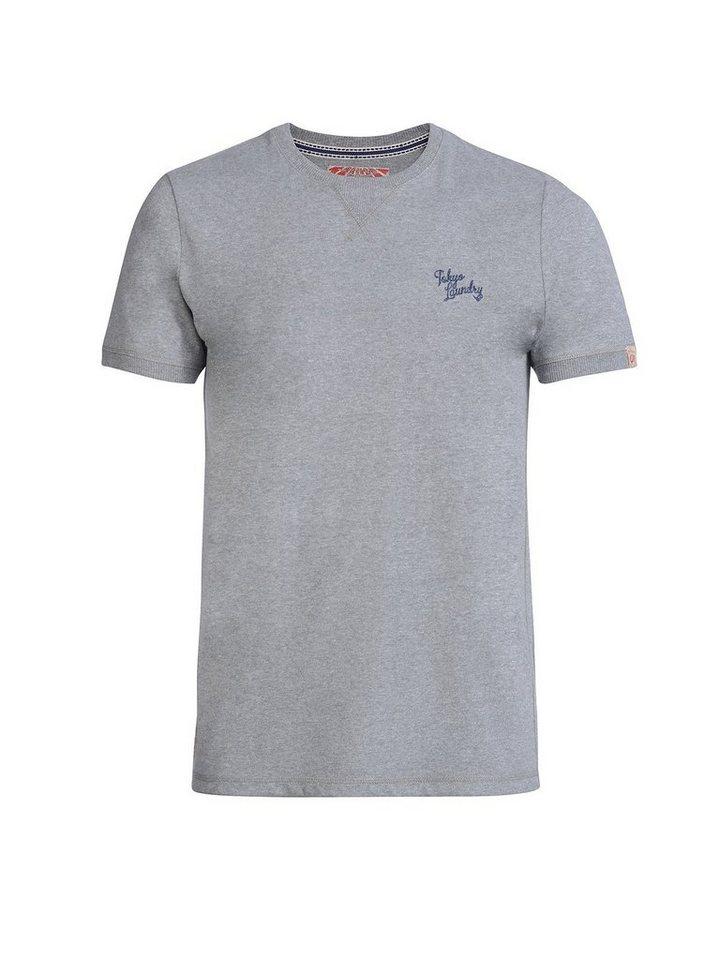 Tokyo Laundry T-Shirt »Charnwood« in grau