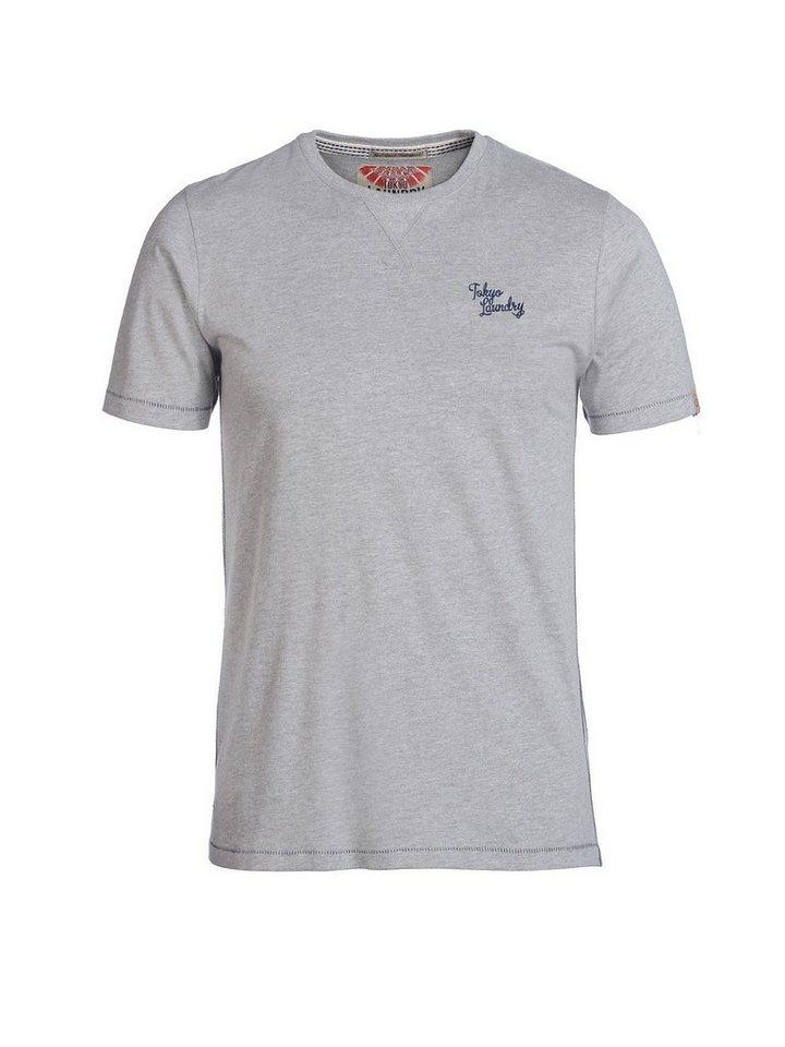 Tokyo Laundry T-Shirt »Essential« in grau