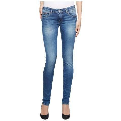 Hilfiger Denim Jeans »ULTRA LOW RISE SKINNY NATALIE RYBST« in ROYAL BLUE STRETCH