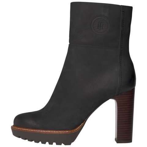 Tommy Hilfiger Boots »I1285LEEN 17N« in BLACK