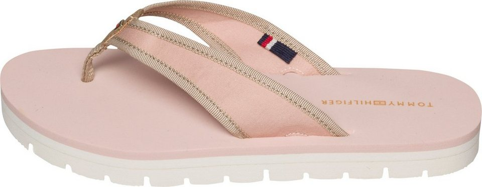 Tommy Hilfiger Infradito (Zehentrenner) »M1285IMI 2C1« in DUSTY ROSE
