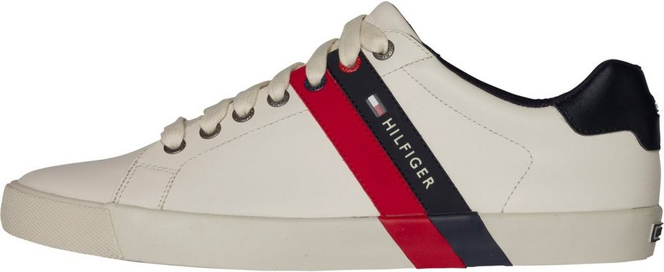 Tommy Hilfiger Schnürhalbschuh »V2285OLLEY 5A« in OFF WHITE