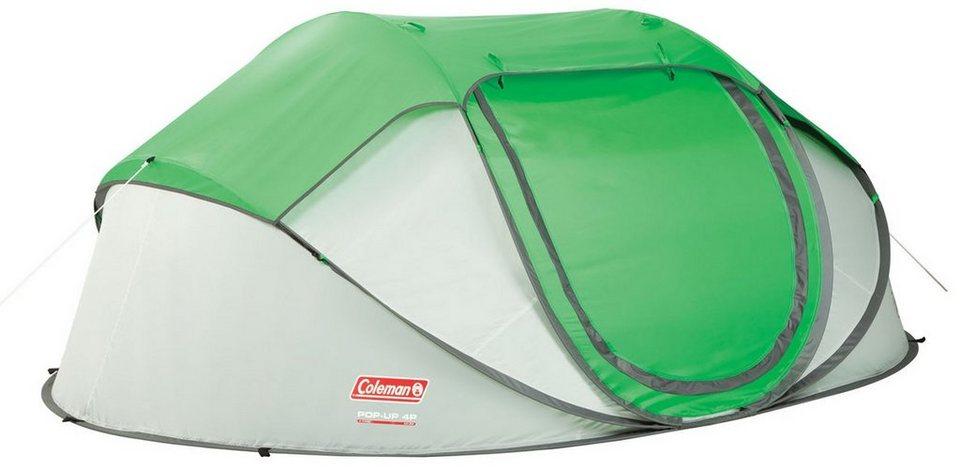 COLEMAN Zelt »Galiano 4 Tent« in grün