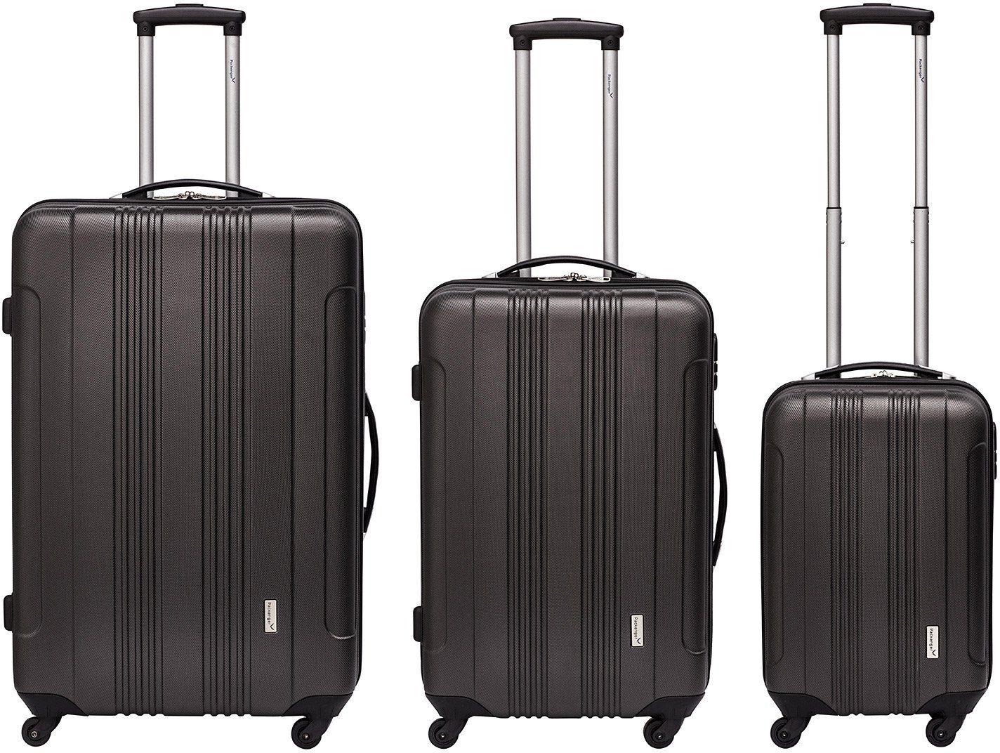 Packenger Hartschalentrolley Set mit 4 Rollen, »Torreto« (3tlg.)