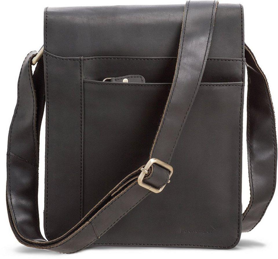 Packenger Umhängetasche mit 10,1-Zoll Tabletfach, »Olaf, schwarz« in schwarz