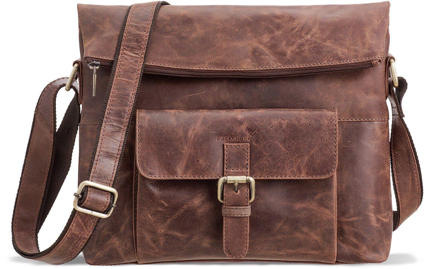Packenger Umhängetasche mit 10-Zoll Tabletfach, »Ivar, vintage«