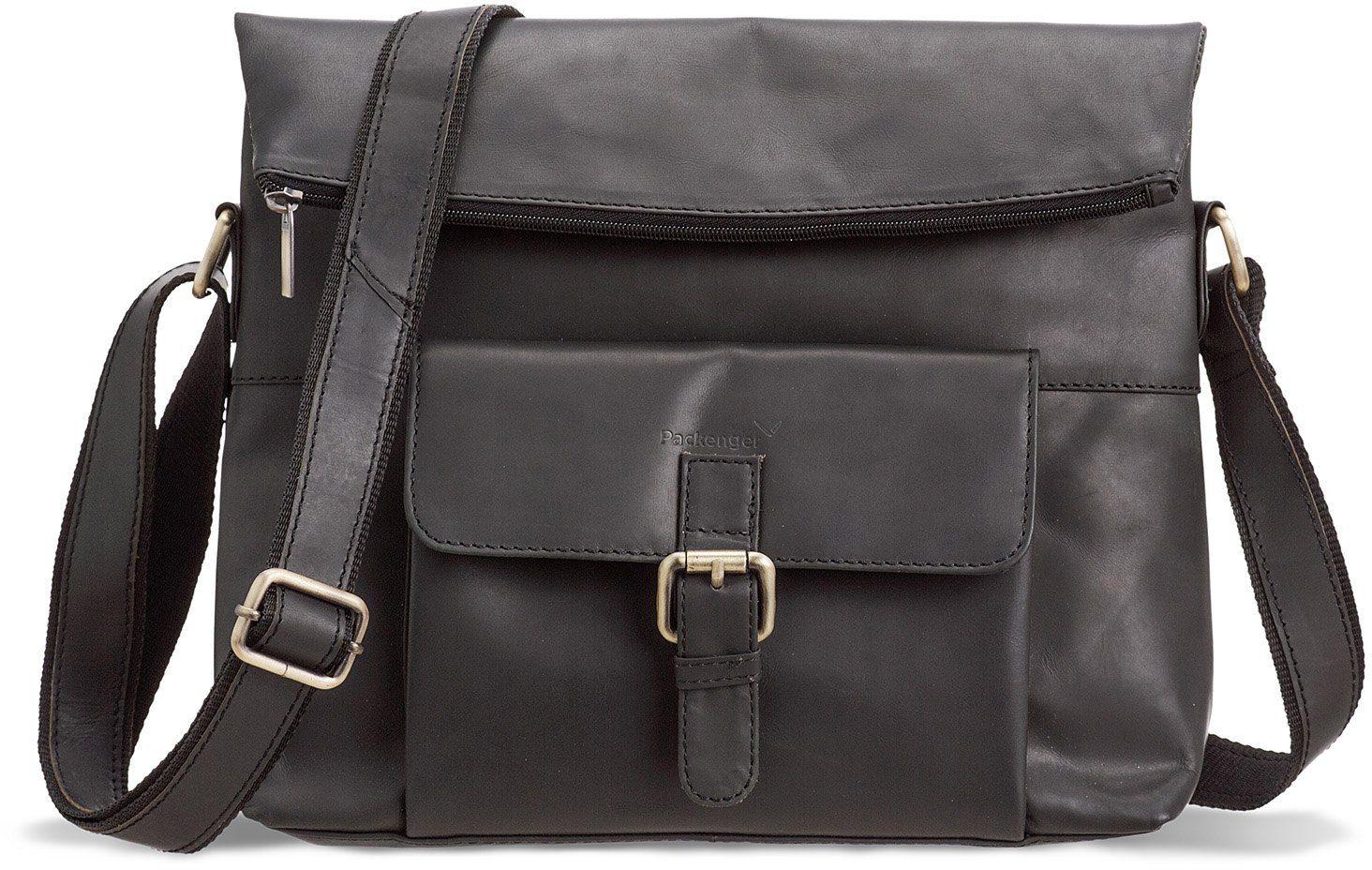 Packenger Umhängetasche mit 10-Zoll Tabletfach, »Ivar, schwarz«