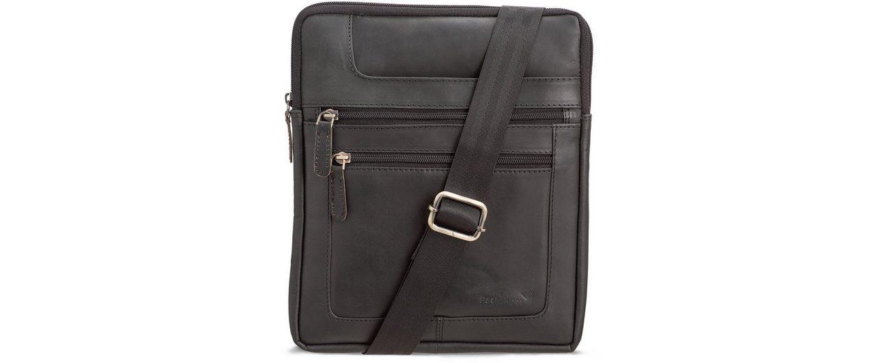 Packenger Umhängetasche mit 10,1-Zoll Tabletfach, »Thuras, schwarz«