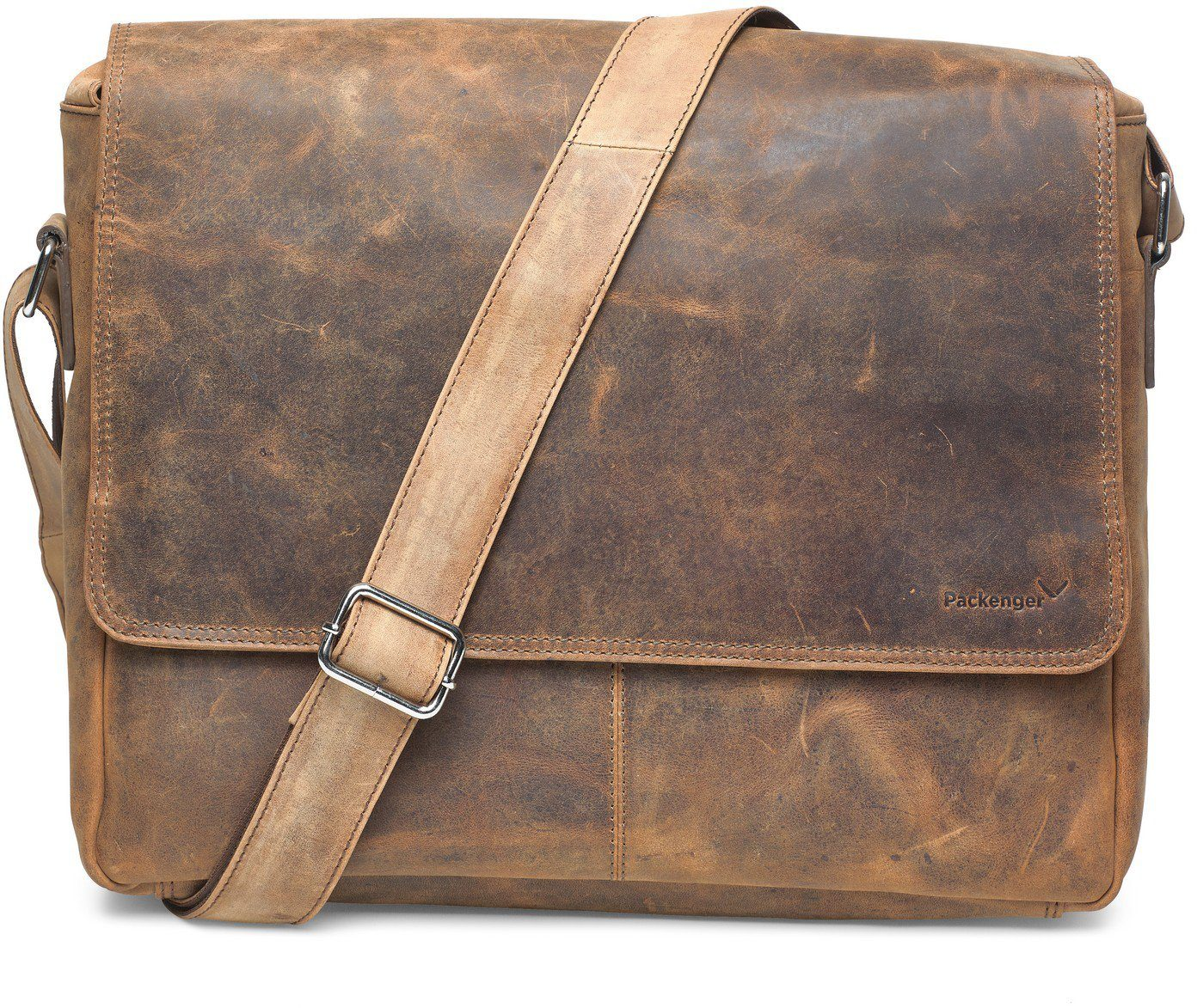 Packenger Messengerbag mit 15-Zoll Laptopfach, »Vethorn, vintage«