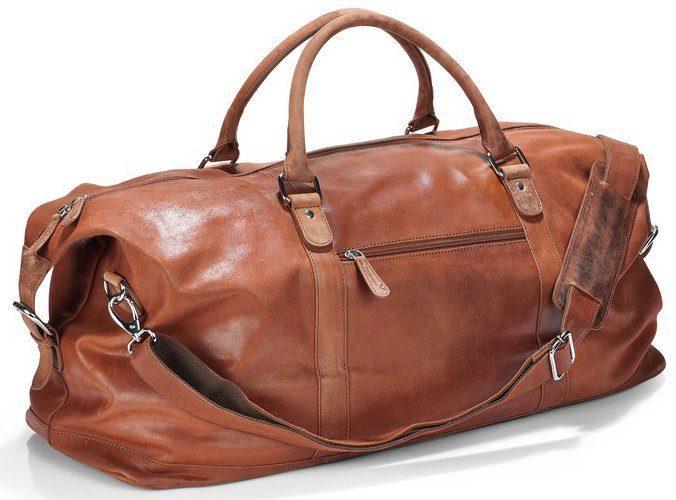 Packenger Weekender, »Floki, cognac«