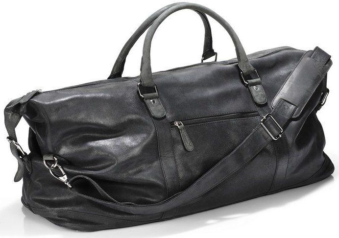 Packenger Weekender, »Floki, schwarz« in schwarz