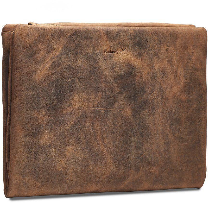 Packenger Dokumentenmappe mit 15-Zoll Lapfach, »Adam, muskat«