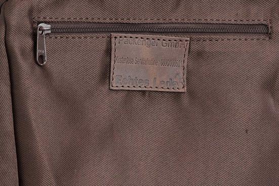 Pack Tighter Shoulder Bag, Hjalti, Dark Brown