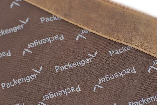 Packenger Umhängetasche mit 15-Zoll Laptopfach, Kolbjorn, muskat