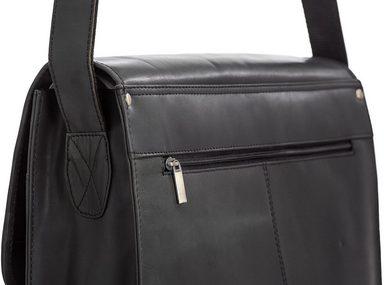 14 Laptopfach zoll Mit Umhängetasche »aslang Packenger Schwarz« qgSIEE