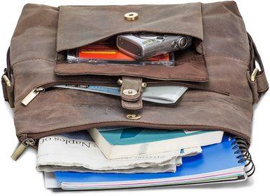 Umhängetasche »ivar Mit Tabletfach Grau« Packenger zoll 10 SZawU