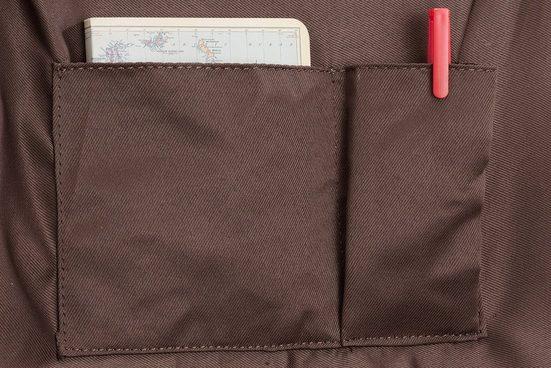 Packenger Umhängetasche mit 10-Zoll Tabletfach, Ivar, dunkelbraun