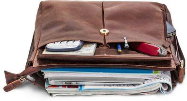 zoll Tablettasche Mit Packenger Vintage« 12 »horik Messengerbag aO4pfU