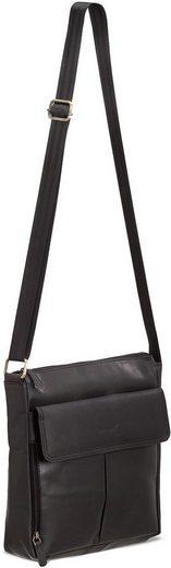 Packenger »horik Mit 12 Messengerbag Schwarz« Tablettasche zoll 8Xr8wO