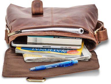 zoll Vintage« »kraka Tabletfach Umhängetasche 10 Packenger 1 Mit qxYw0RnIA
