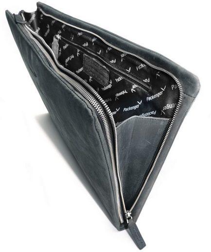 Packenger Dokumentenmappe mit 15-Zoll Lapfach, Adam, schwarz