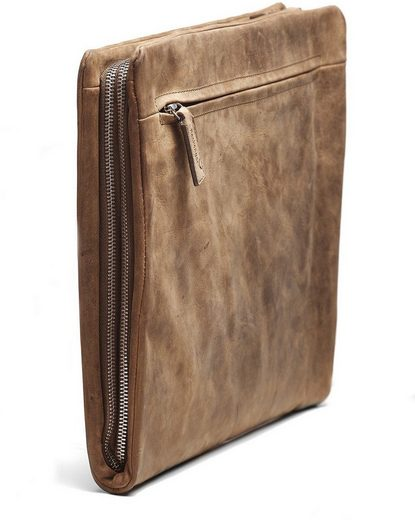 Pack Close Binder With 15-inch Lapfach, Adam, Nutmeg