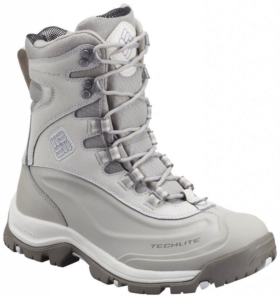 Columbia Stiefel »Bugaboot Plus III Boots Women Omni-HEAT« in grau