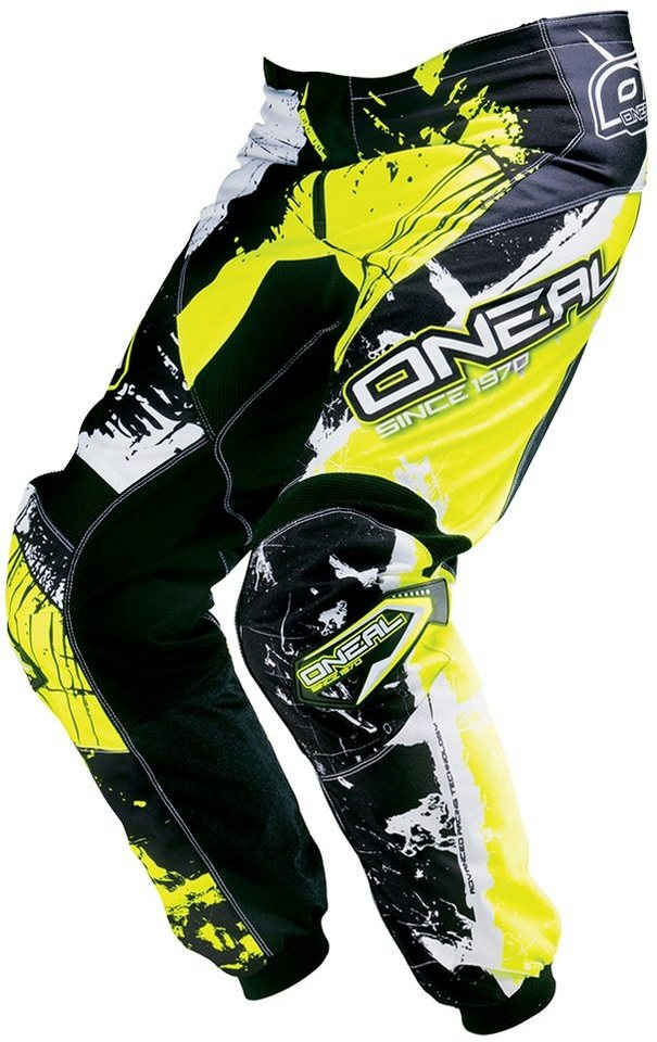 O'NEAL Radhose »Element Shocker Pant Youth« in gelb