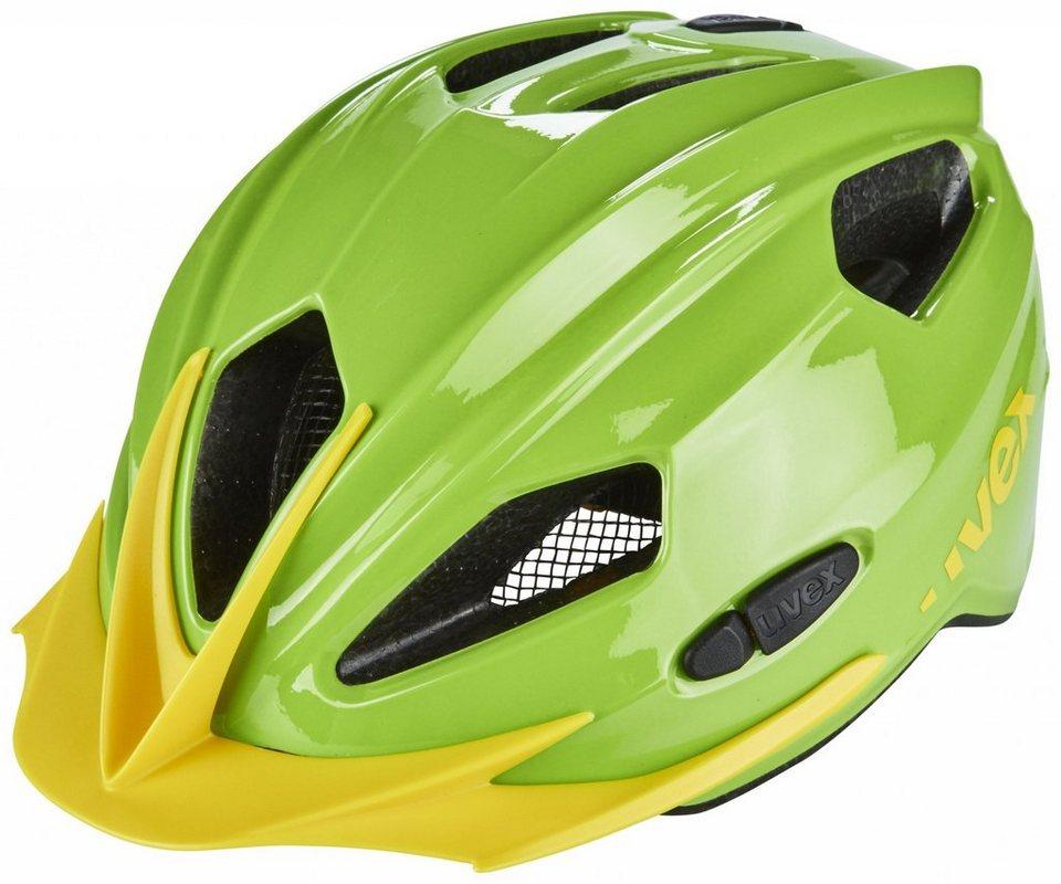 UVEX Fahrradhelm »quatro Helm Junior« in grün