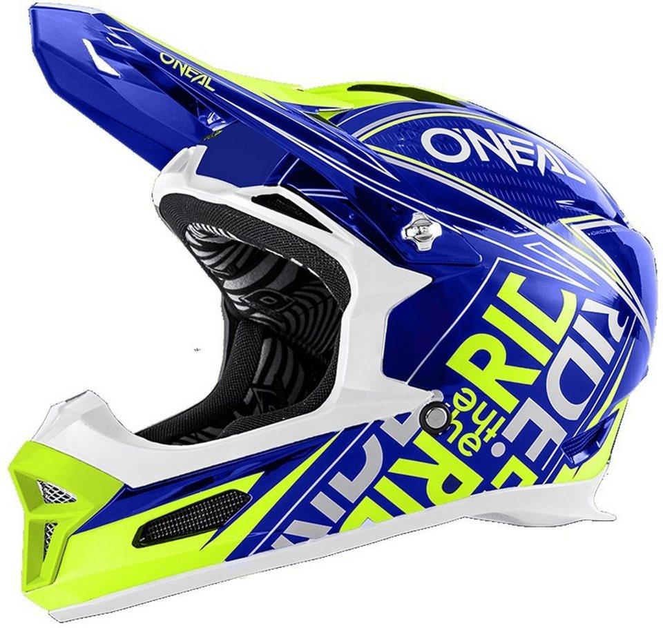 O'NEAL Fahrradhelm »Fury RL Fuel Helmet« in blau