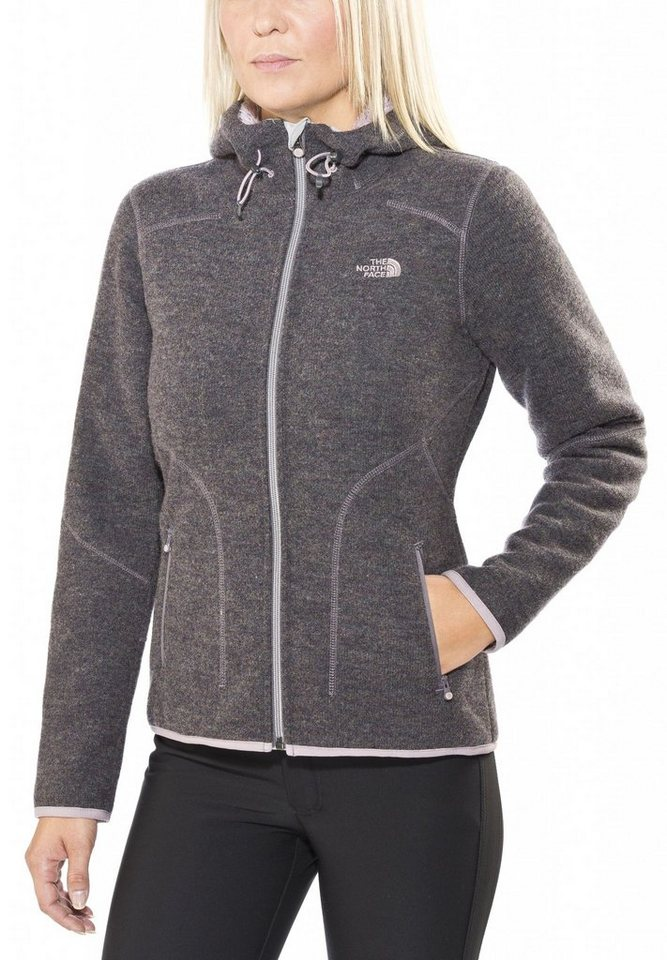 The North Face Outdoorjacke »Zermatt Full Zip Hoodie Women« in grau