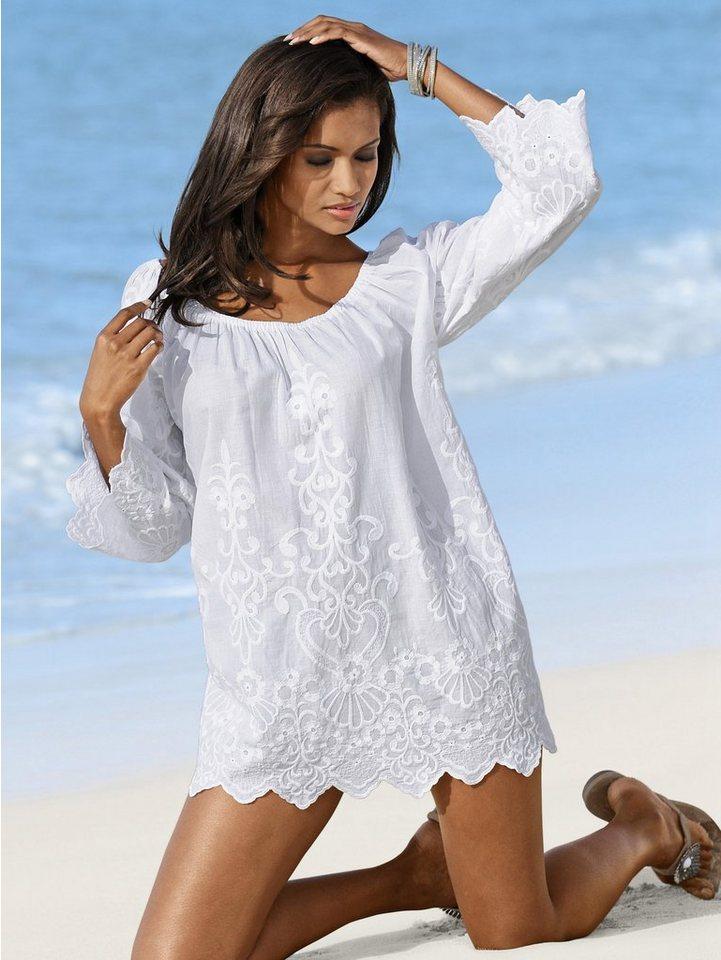 Alba Moda Tunika in weiß
