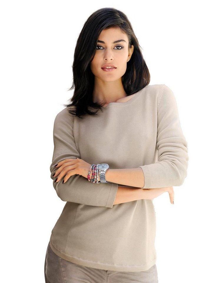 Alba Moda Pullover in stein