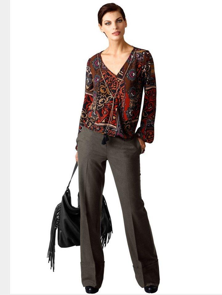 Alba Moda Hose in khaki