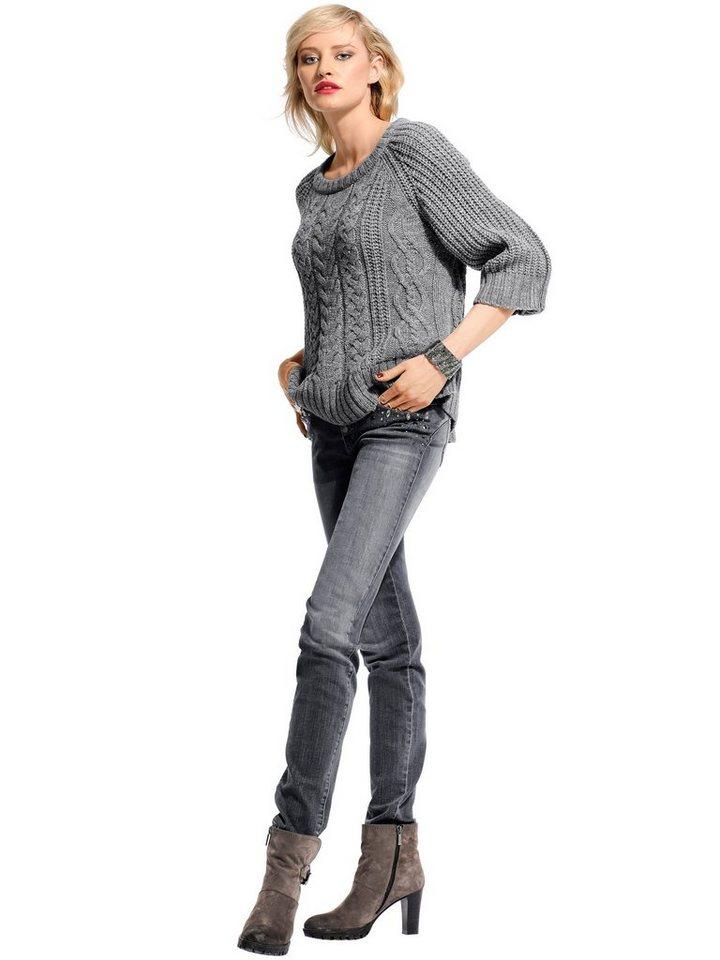 Alba Moda Skinny Jeans in grau