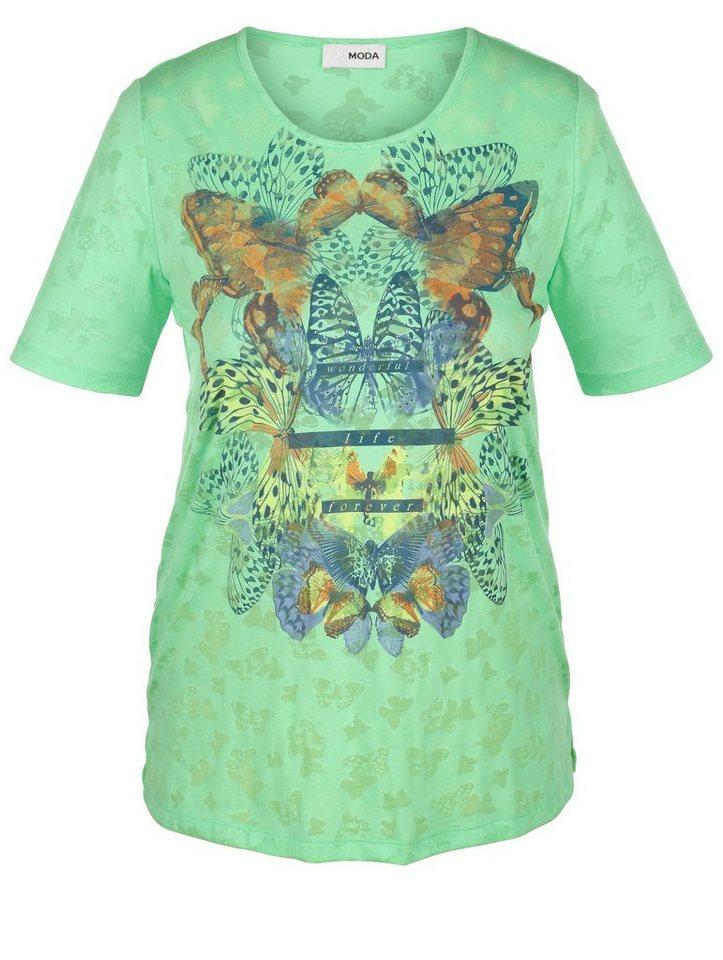 MIAMODA Shirt in grün