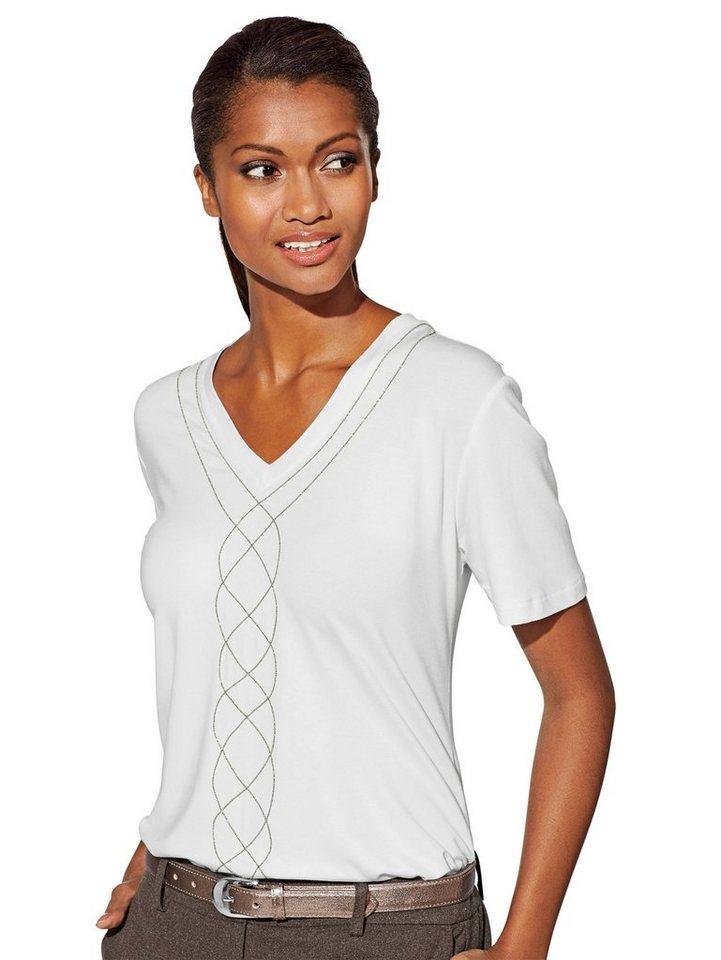 Alba Moda T-Shirt in offwhite