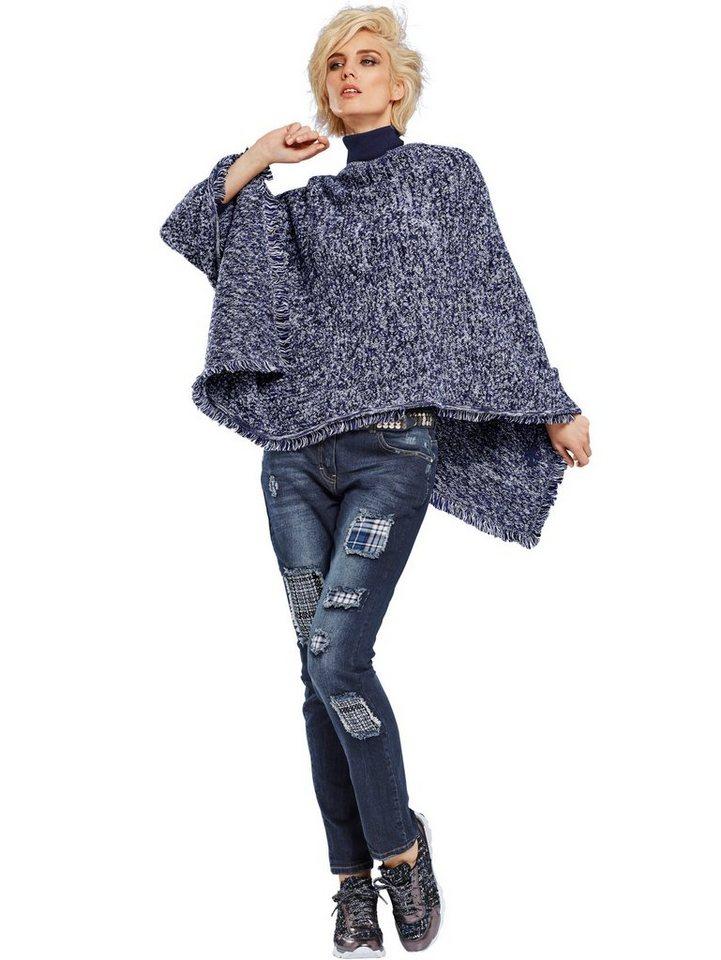 Alba Moda 5-Pocket-Jeans in denimblue