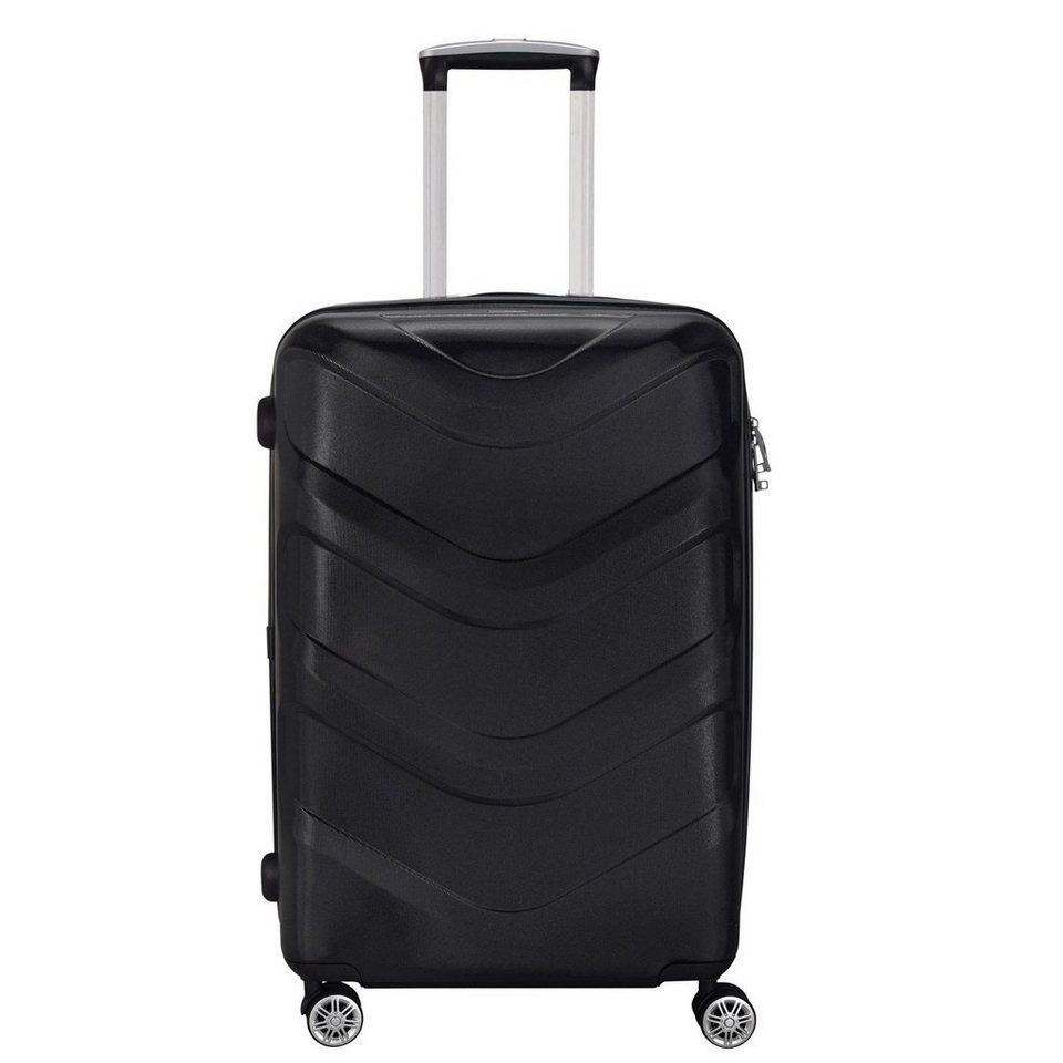 Stratic Arrow 4-Rollen Trolley 65 cm in black