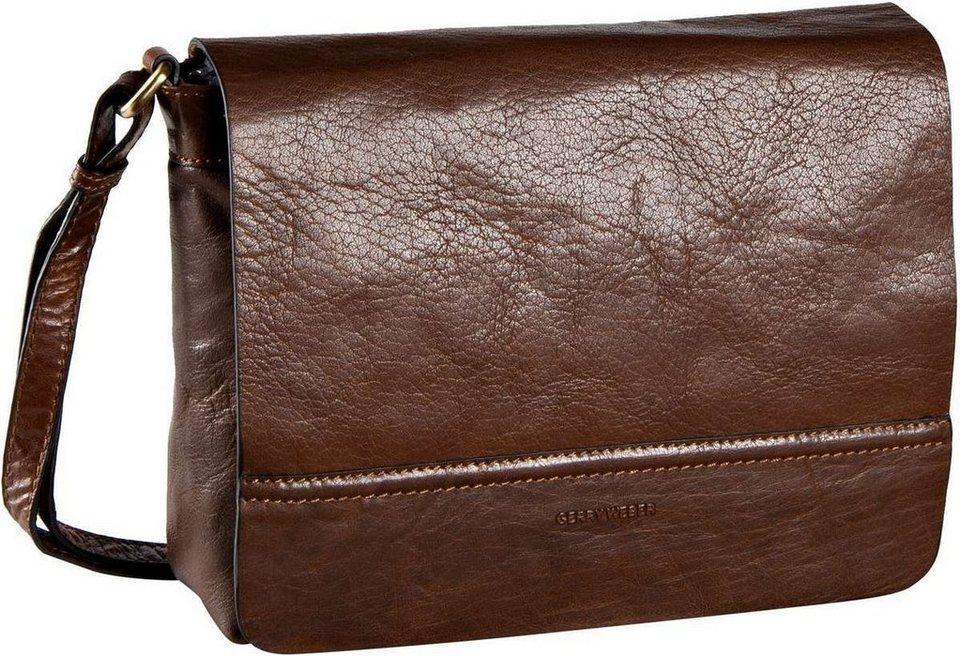 GERRY WEBER Lugano Flap Bag in Cognac