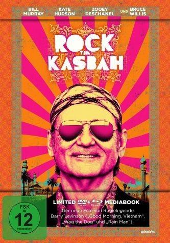 Blu-ray »Rock the Kasbah (Limeted Mediabook, + DVD)«
